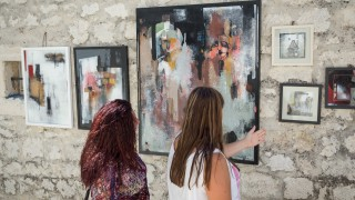 Grisia exhibition held in Rovinj