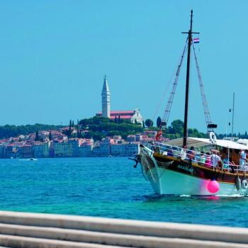 Bootsfahrt um die Rovinjer Insel