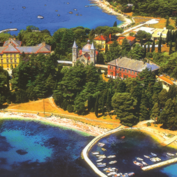 Beginnig of Rovinj Tourism