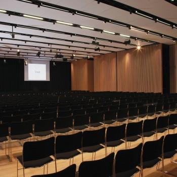 Centro congressi della zona Monte mulini