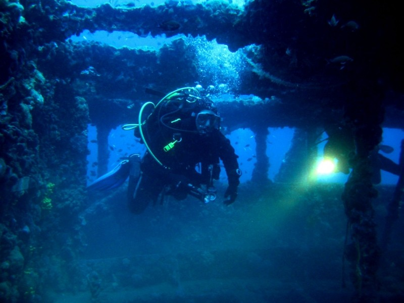 Memorial dive to the Baron Gautsch shipwreck