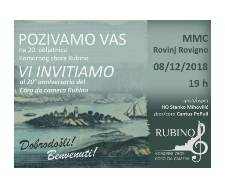 20th Anniversary of Rubino Chamber Choir