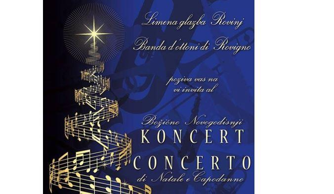 Rovinj Brass band Christmas concert