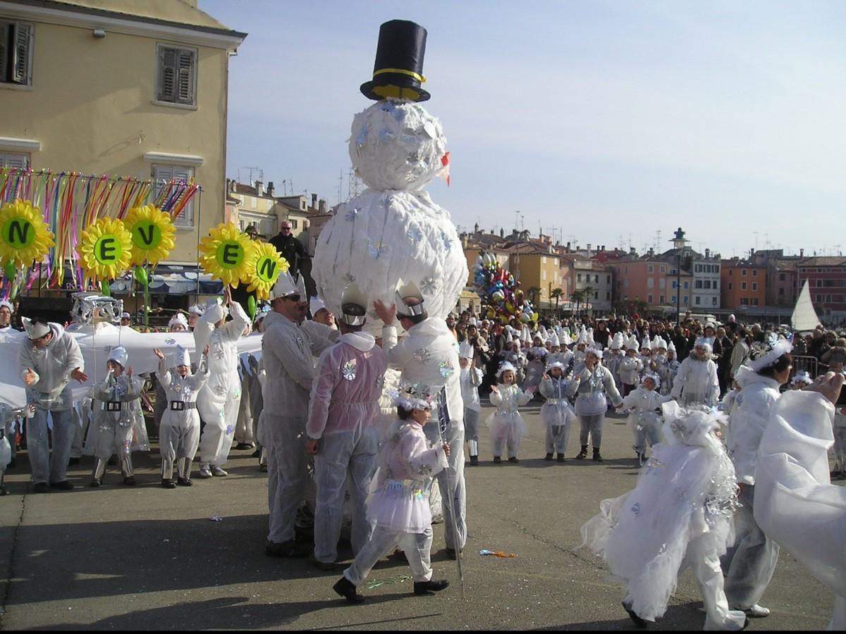 Karneval u Rovinju
