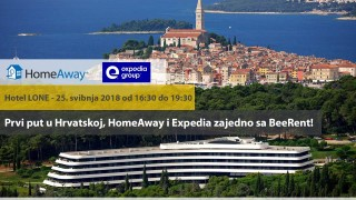 Expedia i HomeAway po prvi puta u Hrvatskoj u suradnji sa BeeRent-om