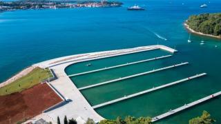 In Rovinj wurde heute der nördliche Hafen San Pelagio eingeweiht