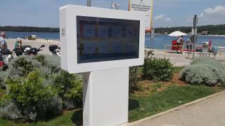 Turistička zajednica je na Valdibori postavila informativni interaktivni display