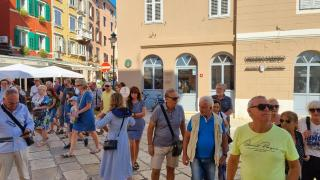 Die organisierten Stadtführungen werden den ganzen September über fortgesetzt