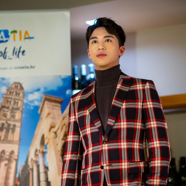 Chinese Star Xu Weizhou receives the EU Tourism Ambassador Award
