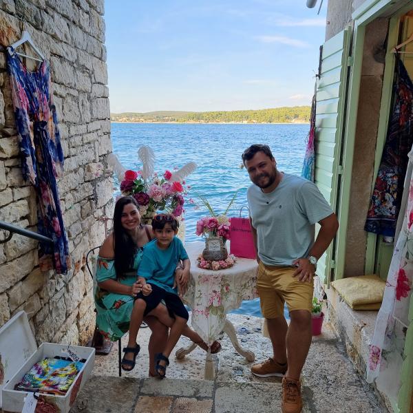 Brasilianisches Fernsehteam Cris Pelo Mundo zu Gast in Rovinj