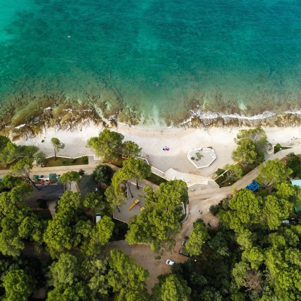 Realizzata una nuova spiaggia nella zona di Borik
