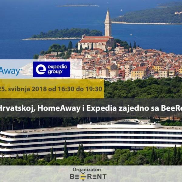 Expedia e HomeAway per la prima volta in Croazia in collaborazione con BeeRent