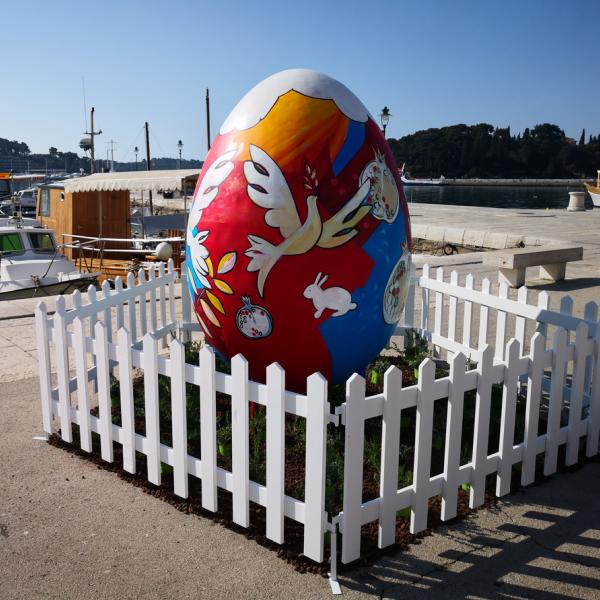 Rovigno per Pasqua sarà addobbata a festa